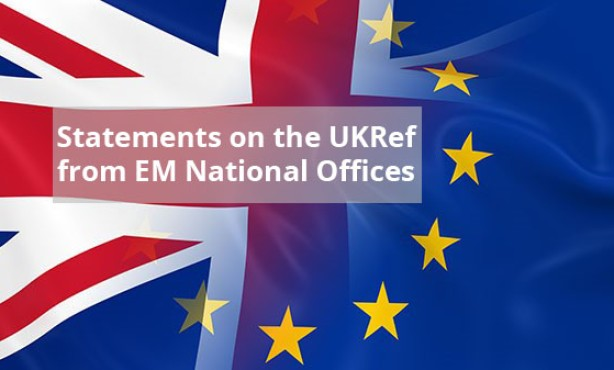 European Movement International National Councils: Brexit Statements