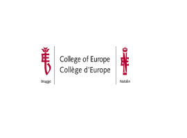 "College of Europe: Conference ""The Internal Market 2.0"""