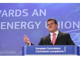 EMI Briefing: Vice-President for the Energy Union Maroš Šefčovič