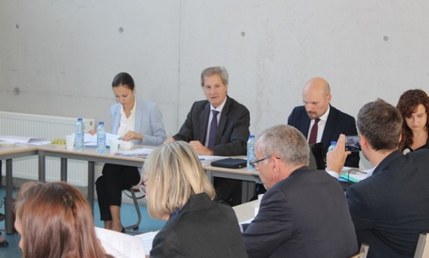 European Movement Board meeting at College of Europe