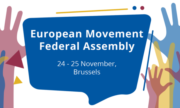 PRESS RELEASE: The European Movement International Elects New President and Board