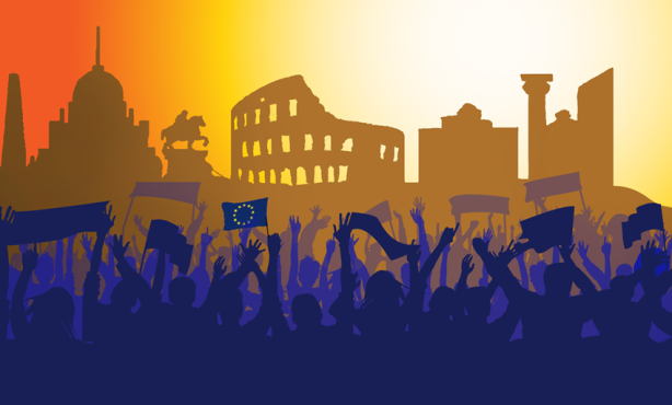 The European Movement in Rome on 25 March