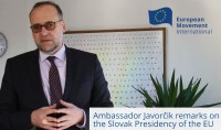 Interview with Mr Peter Javorčik, Slovak Ambassador to the EU