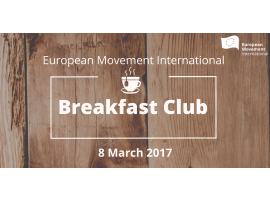 European Movement Breakfast Club with João Nogueira Martins