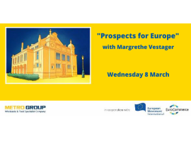 Brussels Wednesday Social with Commissioner Vestager