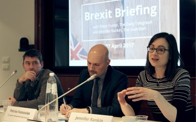 European Movement Brexit Briefing with Peter Foster and Jennifer Rankin
