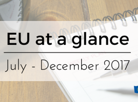 EU at a Glance calendar now available