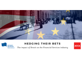 Hedging their Bets: The impact of Brexit on the Financial Services industry