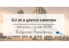 EU at a glance calendar January – June 2018