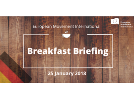 Breakfast Briefing on the German coalition negotiations