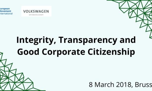 Integrity, Transparency and Good Corporate Citizenship