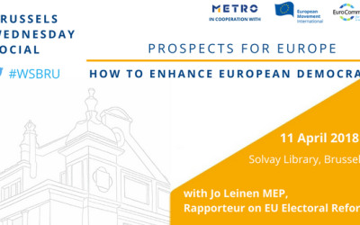 Brussels Wednesday Social: Prospects for Europe