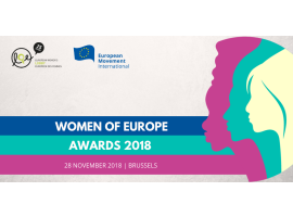 Women of Europe Award | 2018