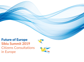 EMI: Sibiu Summit 2019 – Citizen Consultations in Europe