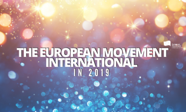 The European Movement International in 2019