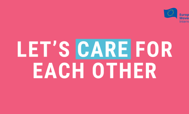 EMI: Let's care for each other.