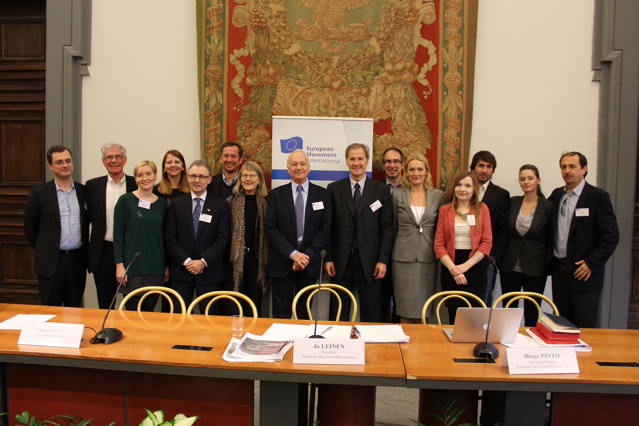 European Movement International elects new Board and decides political future
