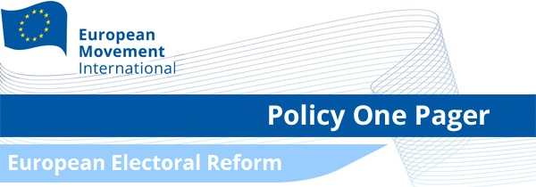 Policy One Pager: Electoral Reform