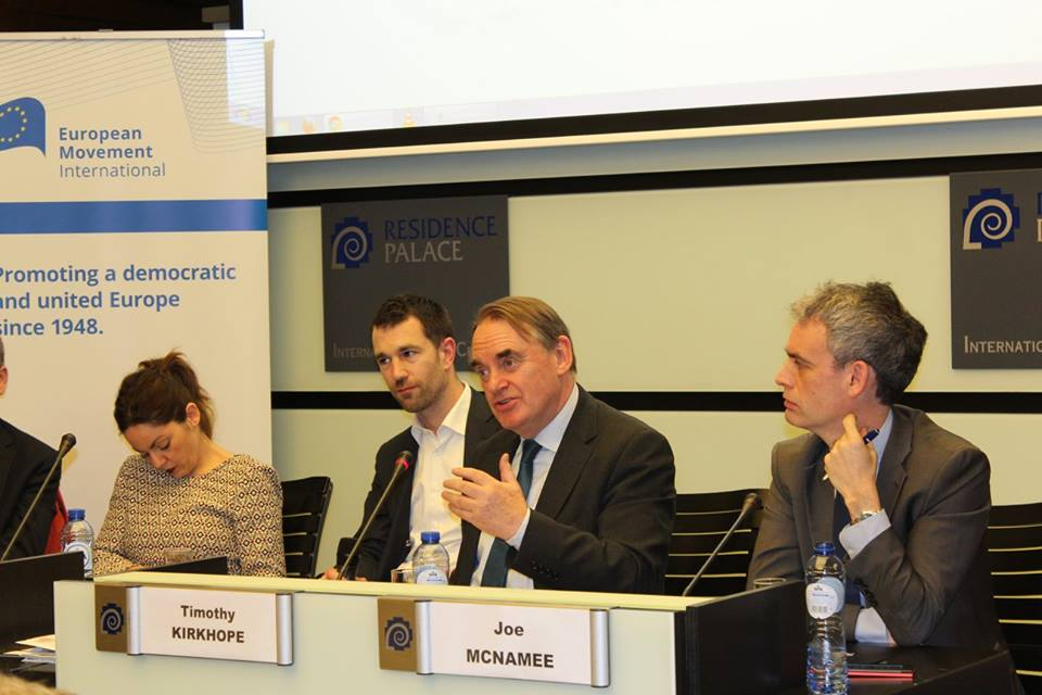 """European Movement Panel Debate """"Security or Rights: Does it Have to Be an Either-Or Question?"""""""