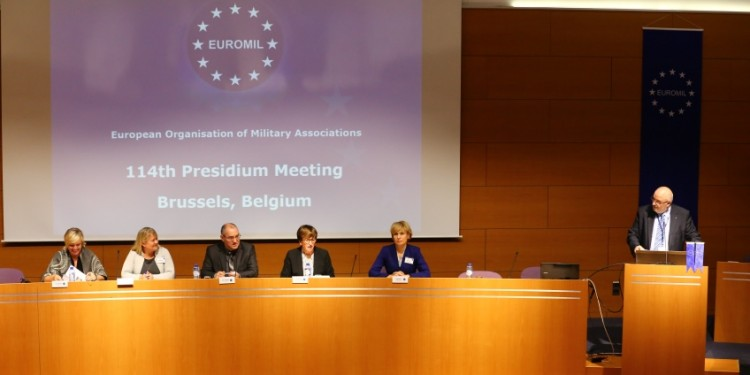 EUROMIL: 114th Presidium Meeting in Brussels