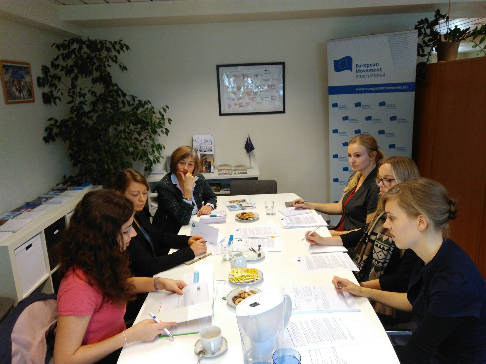 European Movement Political Committee meeting on Skills and Youth with Ms. Susan Bird
