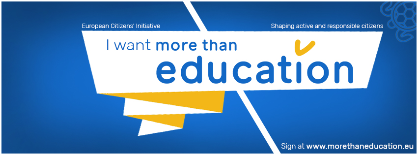 AEGEE: Launch of More than education – European Citizens' Initiative