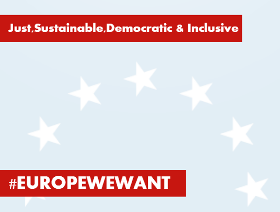 243 NGOs join the call for the Europe We Want