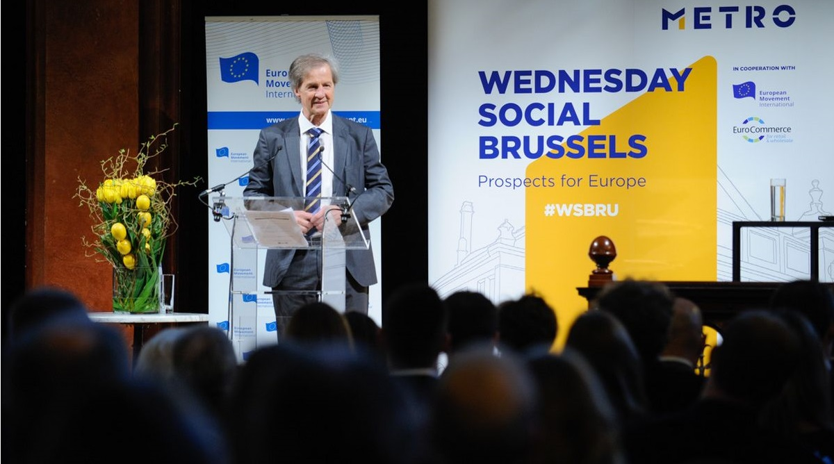 9th Brussels Wednesday Social with Jo Leinen MEP