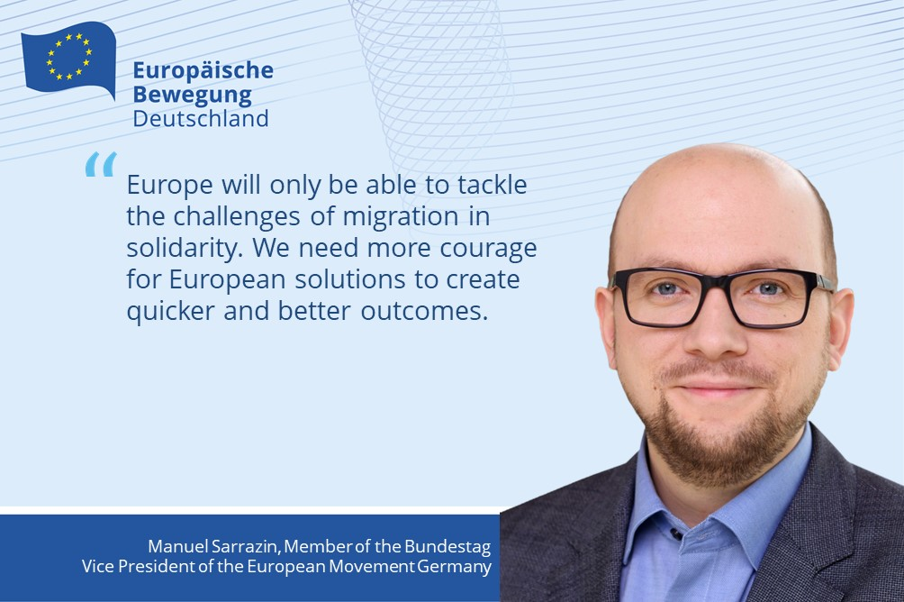 More Courage for European Solutions in Migration | Vice President of European Movement Germany Comments on Salzburg Summit