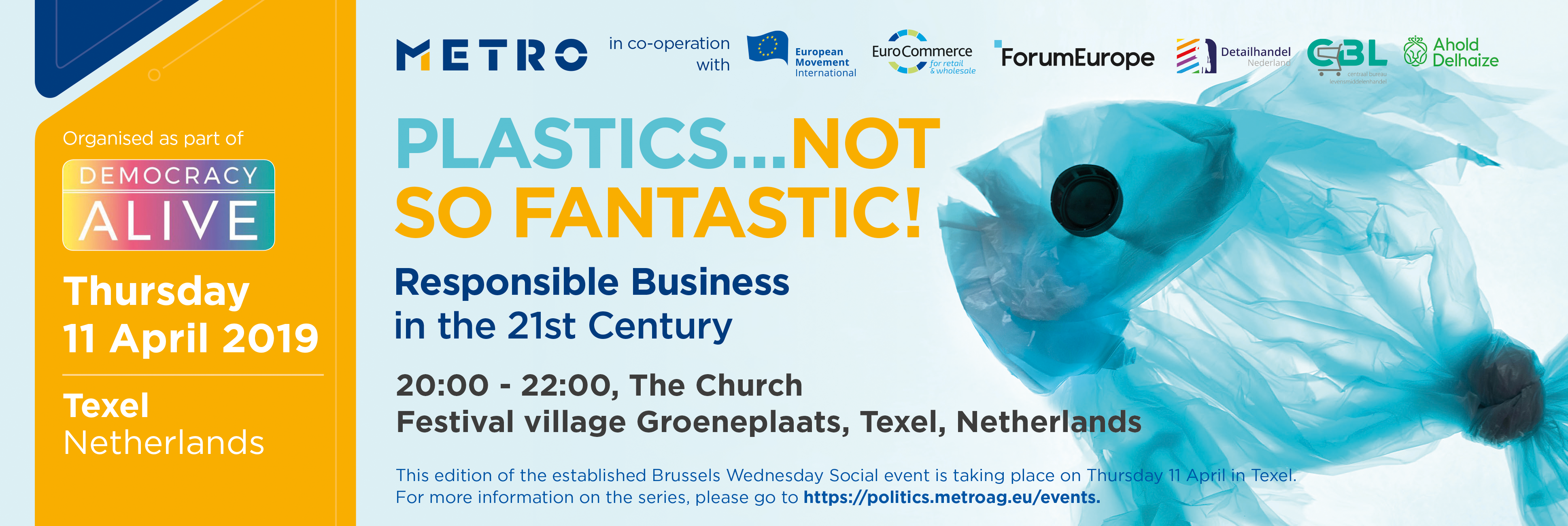 Plastics…Not so fantastic! Responsible Business in the 21st Century