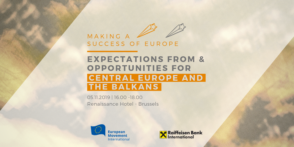 Making a success of Europe | Expectations from & Opportunities for Central Europe and the Balkans